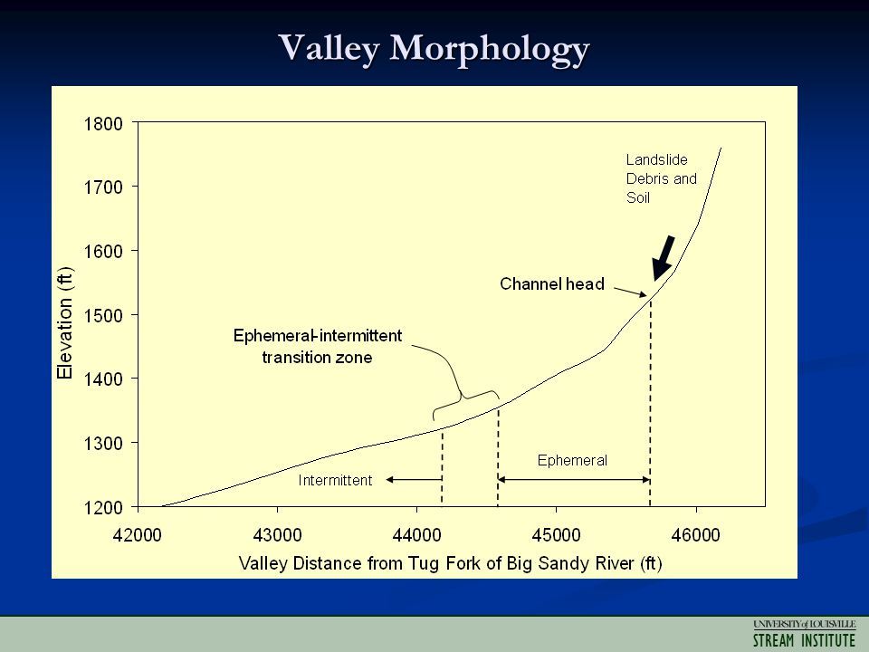 STREAM INSTITUTE Valley Morphology