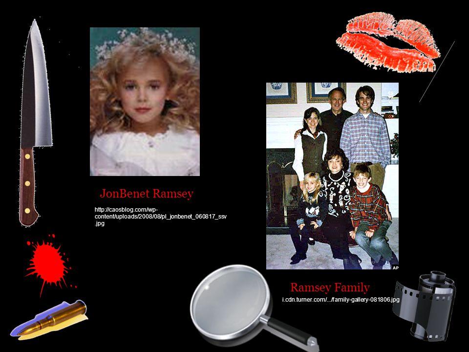 JonBenet Ramsey Ramsey Family i.cdn.turner.com/.../family-gallery-081806.jpg http://caosblog.com/wp- content/uploads/2008/08/pl_jonbenet_060817_ssv.jpg