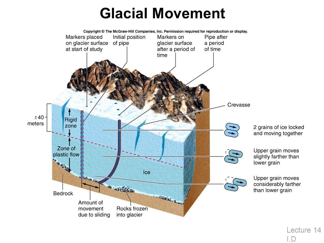 Glacial Movement Lecture 14 I.D