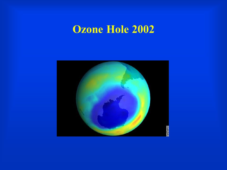 Ozone Hole 2002