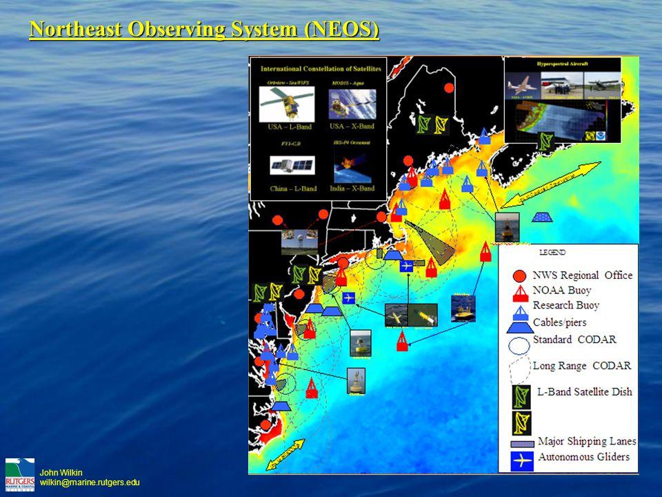 John Wilkin wilkin@marine.rutgers.edu Northeast Observing System (NEOS)