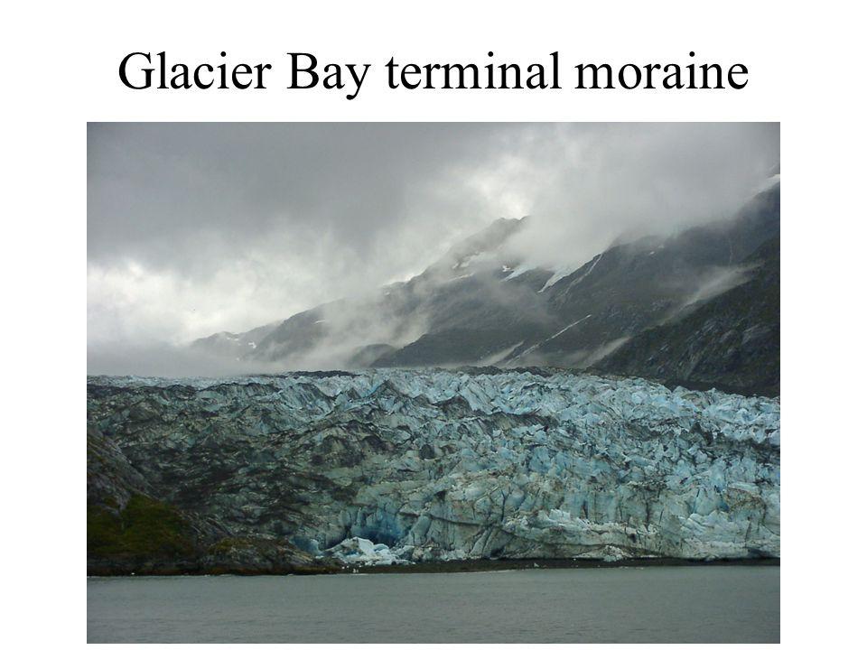Glacier Bay terminal moraine