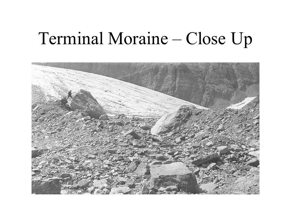 Terminal Moraine – Close Up
