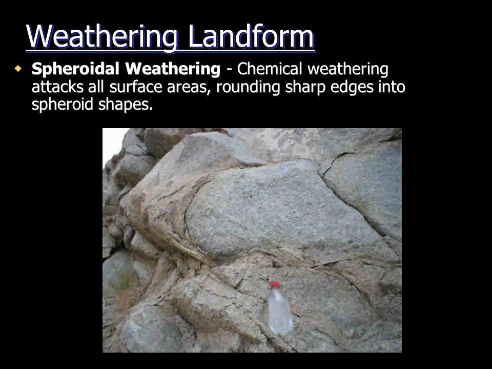 Weathering Landform