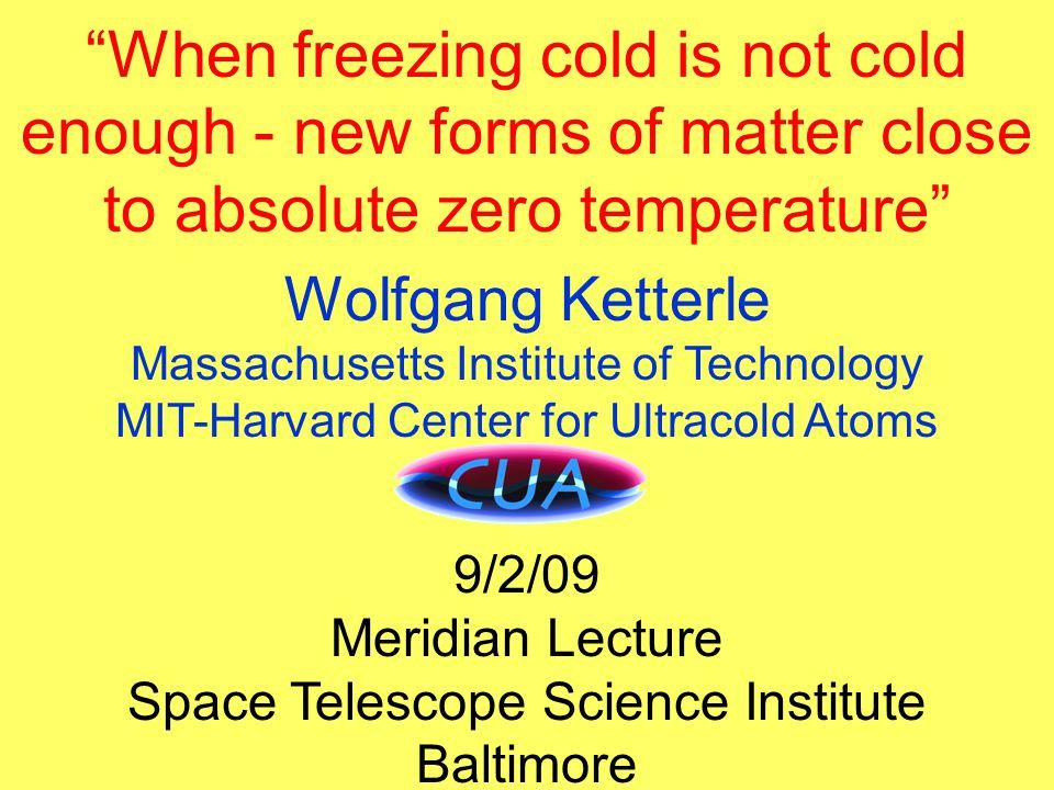 Effusive beam How to measure temperature? Kinetic energy mv 2 /2 = k B T/2
