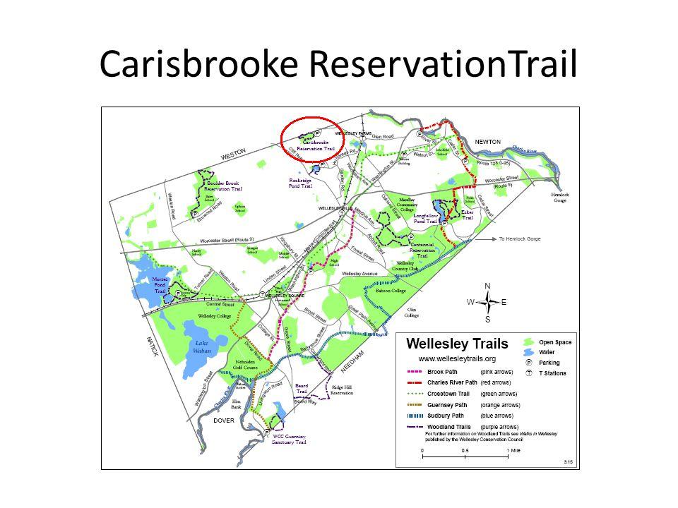 Carisbrooke ReservationTrail