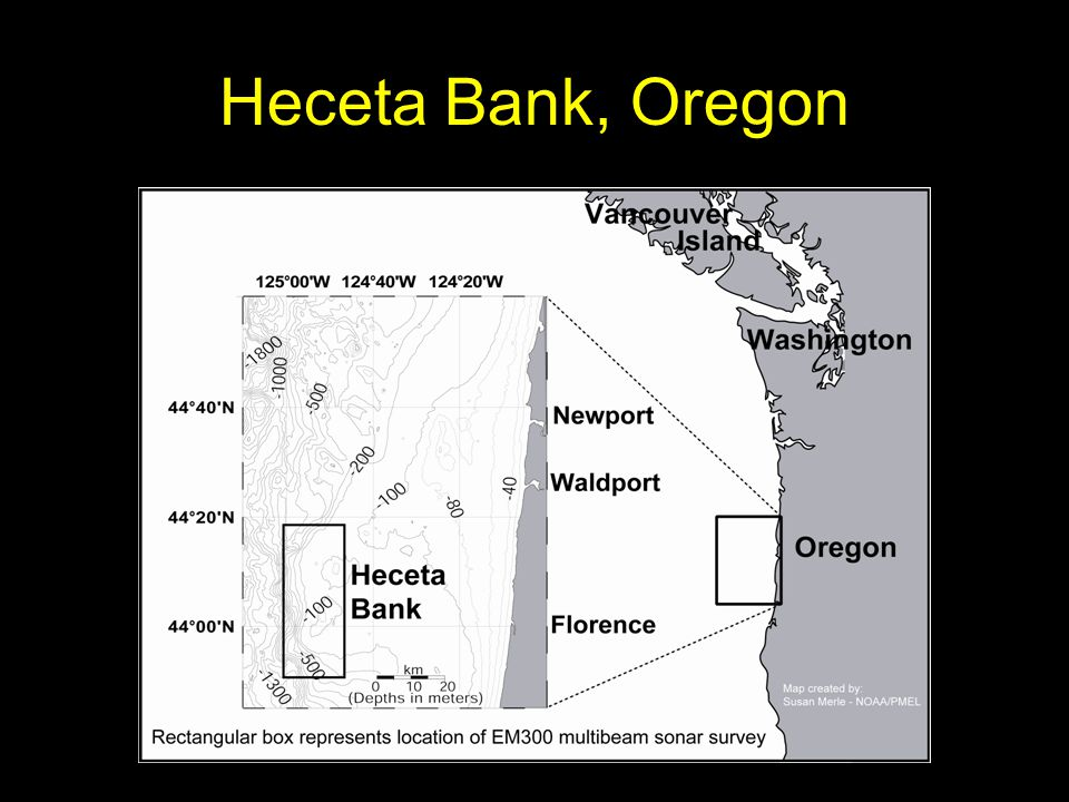 Heceta Bank, Oregon