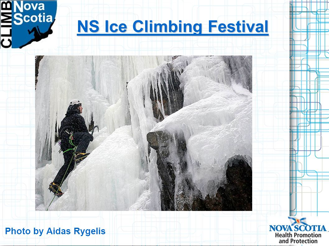 NS Ice Climbing Festival Photo by Aidas Rygelis