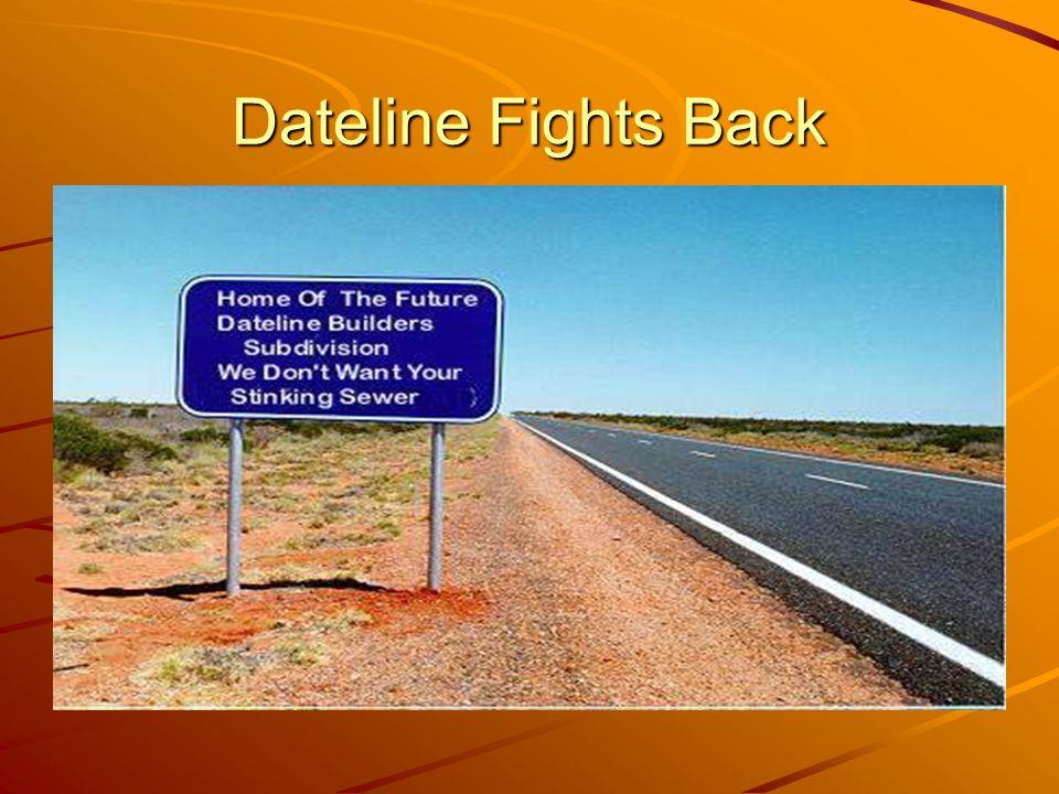 Dateline Fights Back