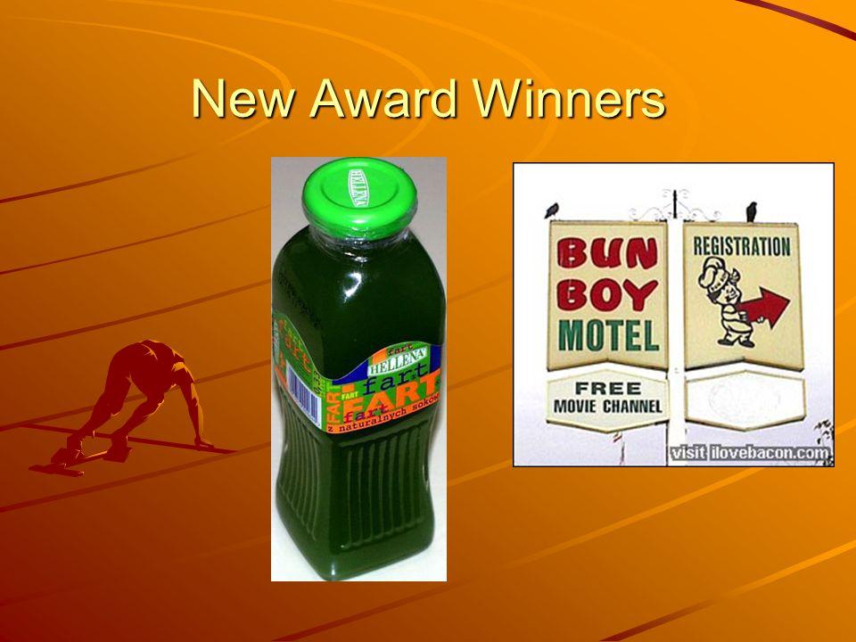 New Award Winners