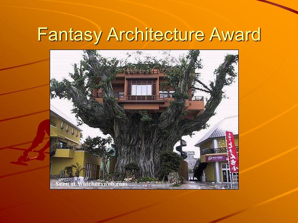 Fantasy Architecture Award