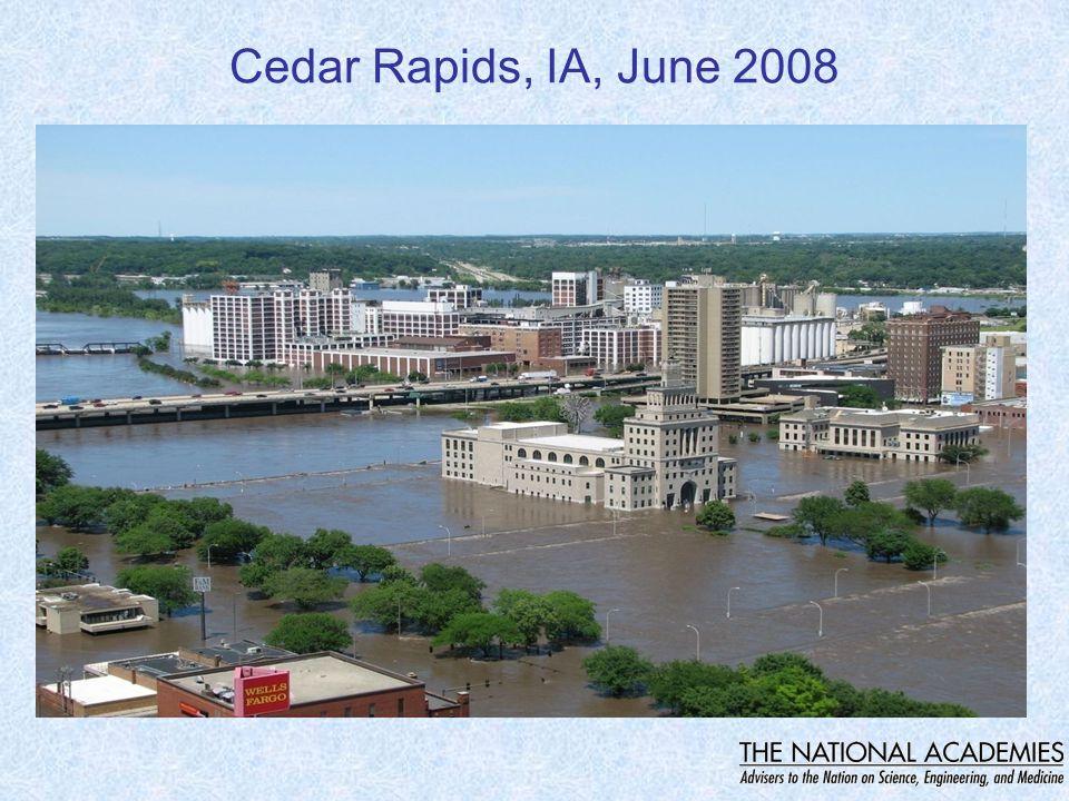 Cedar Rapids, IA, June 2008