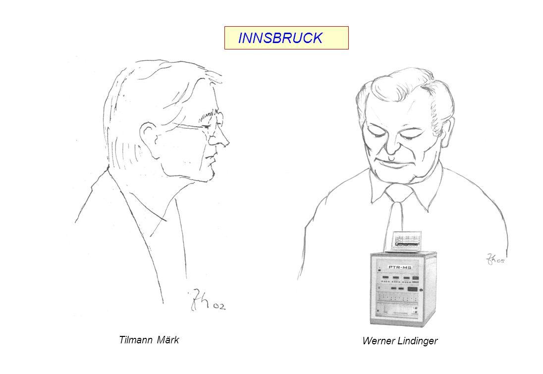 Tilmann Märk Werner Lindinger INNSBRUCK