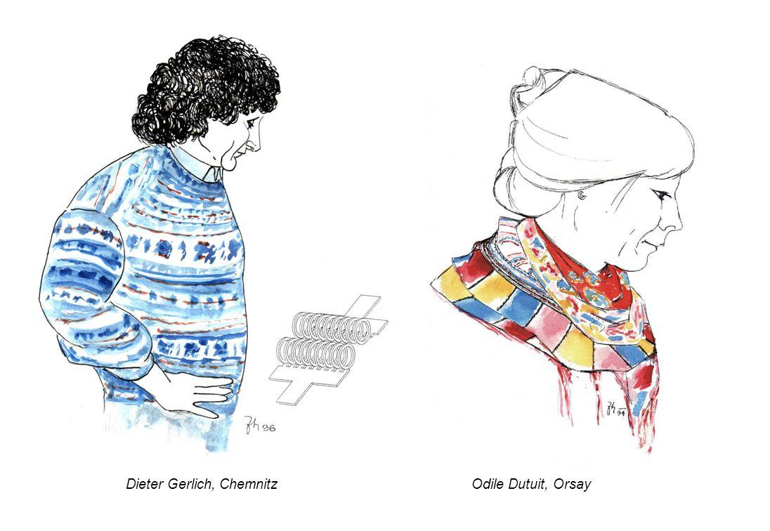 Dieter Gerlich, ChemnitzOdile Dutuit, Orsay