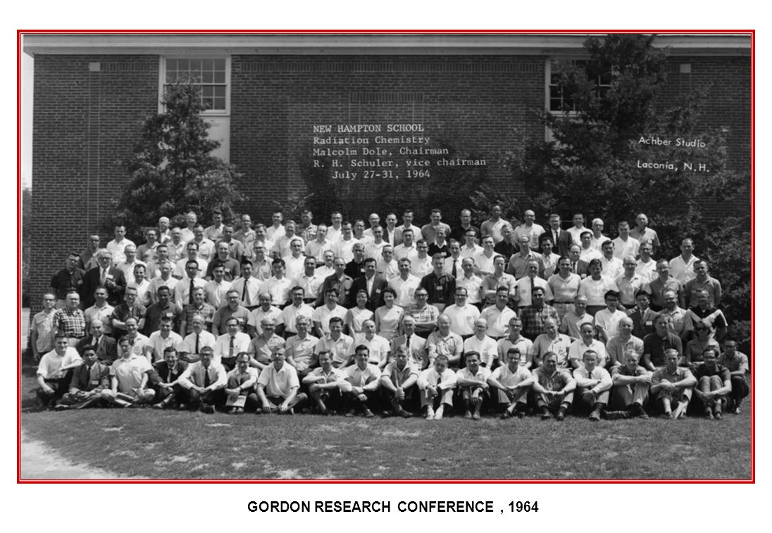 GORDON RESEARCH CONFERENCE, 1964