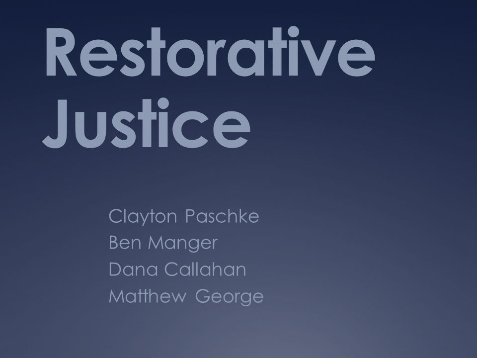 Skidmore College  One of the first successful, truly restorative programs at a liberal arts college in the United States  Restorative conferencing approach used in order to facilitate communication between the offender, victim and community.