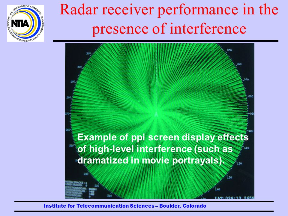 Radar receiver performance in the presence of interference Target losses at low I/N levels of interference are insidious.