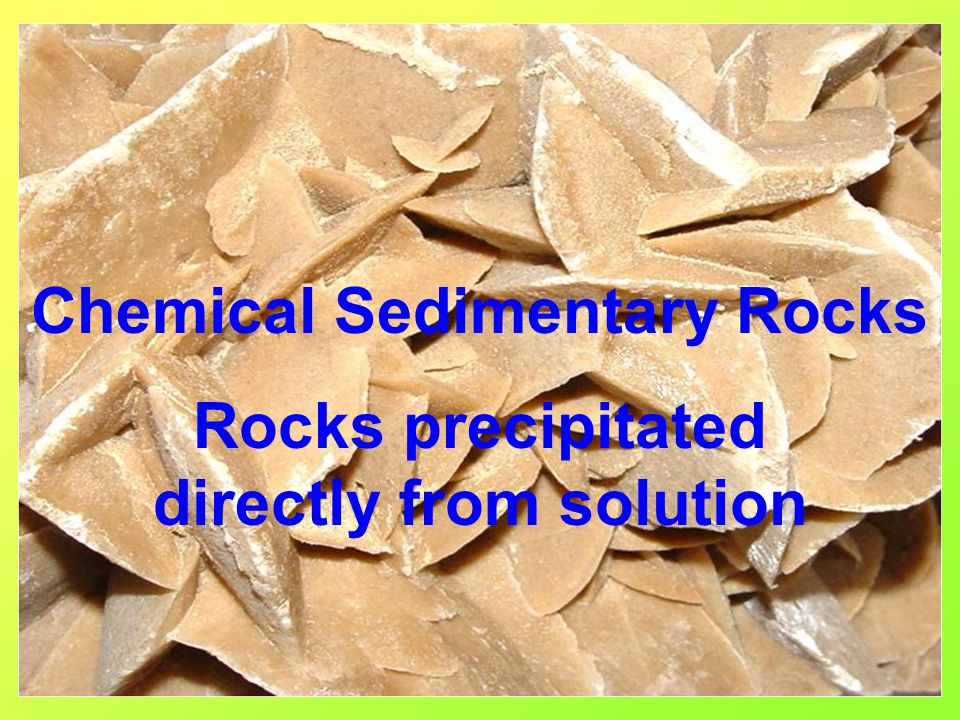 Particle Sizes of Clastic Rocks >256mm Boulder 256mm – 64mm Cobble 64mm- 4mm Pebble 4mm- 2mm Granule 2mm – 1/16mm Sand 1/16 – 1/256mm Silt <1/256mm - Clay