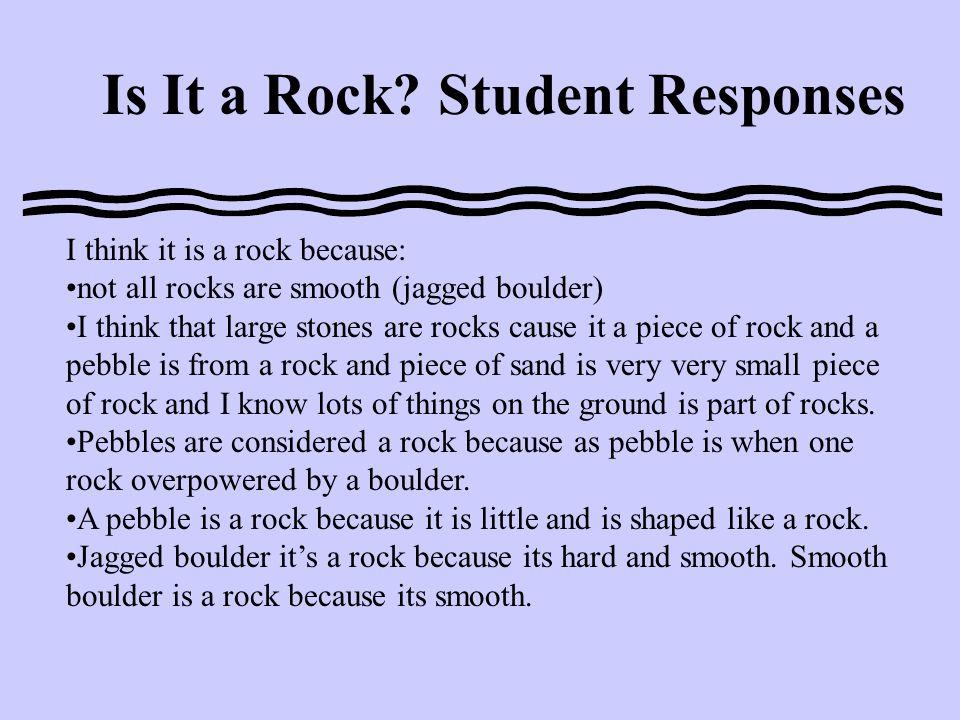 Is It a Rock.