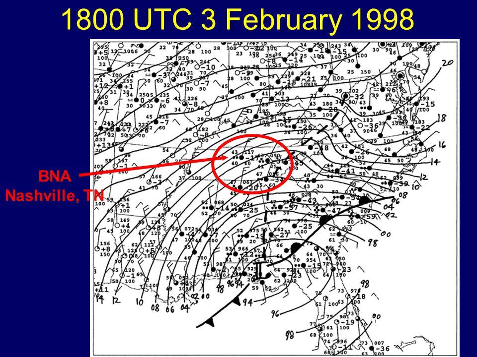 1800 UTC 3 February 1998 BNA Nashville, TN