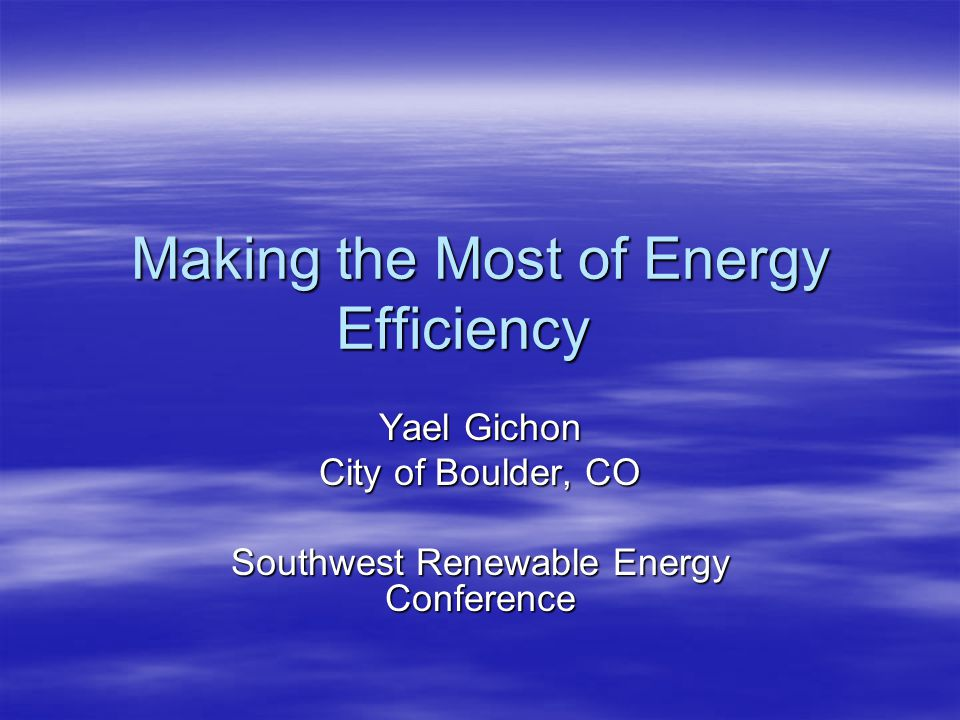 SmartRegs  Update to city's housing code  Requirement for energy efficiency in rental housing  Target energy performance level through: –Performance (HERS 120) –Prescriptive  All rental properties must meet standard by January 2, 2019  Two Techs – SmartRegs compliance pathway