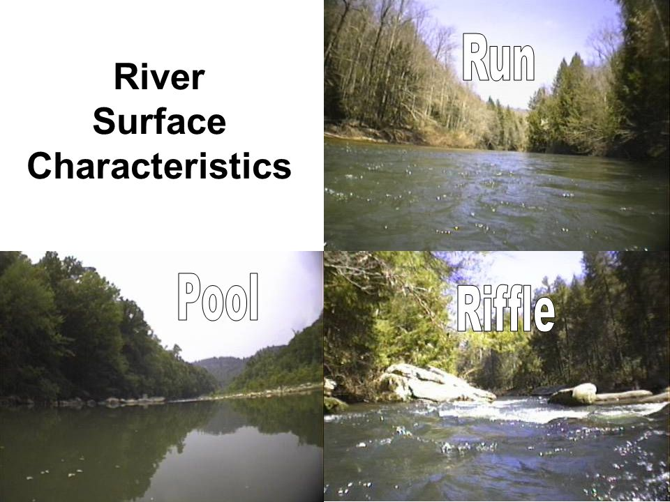 River Surface Characteristics