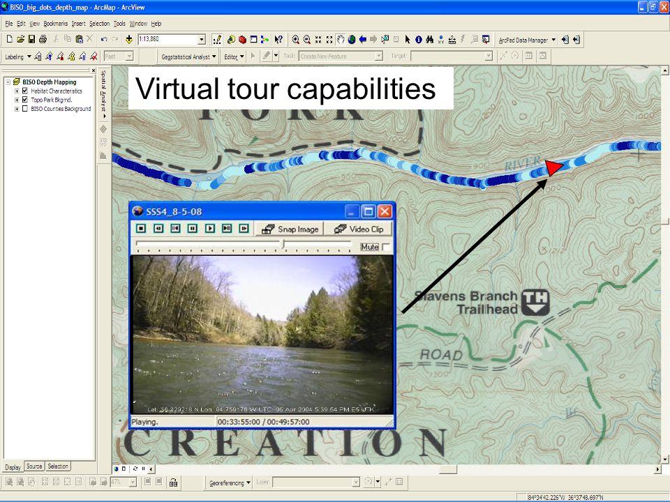 Virtual tour capabilities