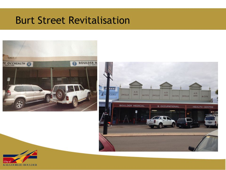 Burt Street Revitalisation