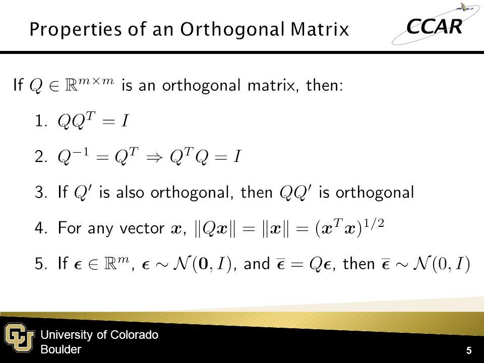 University of Colorado Boulder 5
