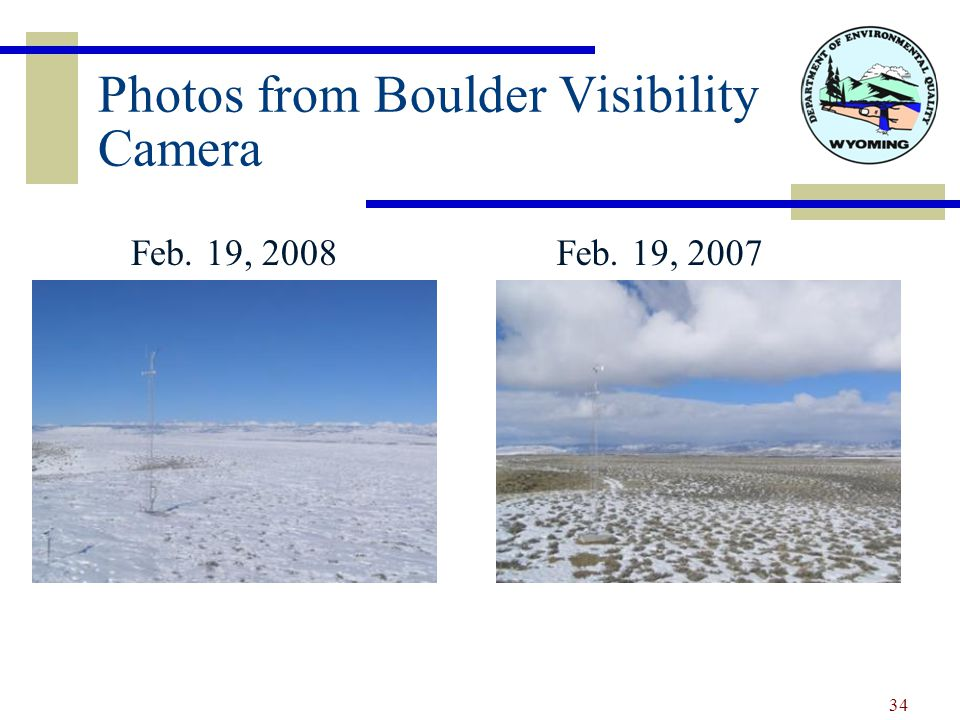Photos from Boulder Visibility Camera Feb. 19, 2008Feb. 19, 2007 34