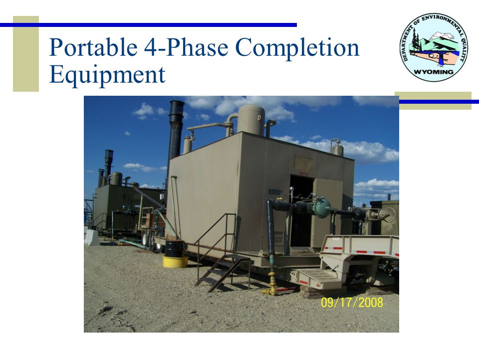 Portable 4-Phase Completion Equipment