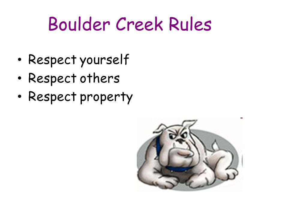What are the rules in the classroom? Be safe! I will keep my hands, feet, and objects to myself.