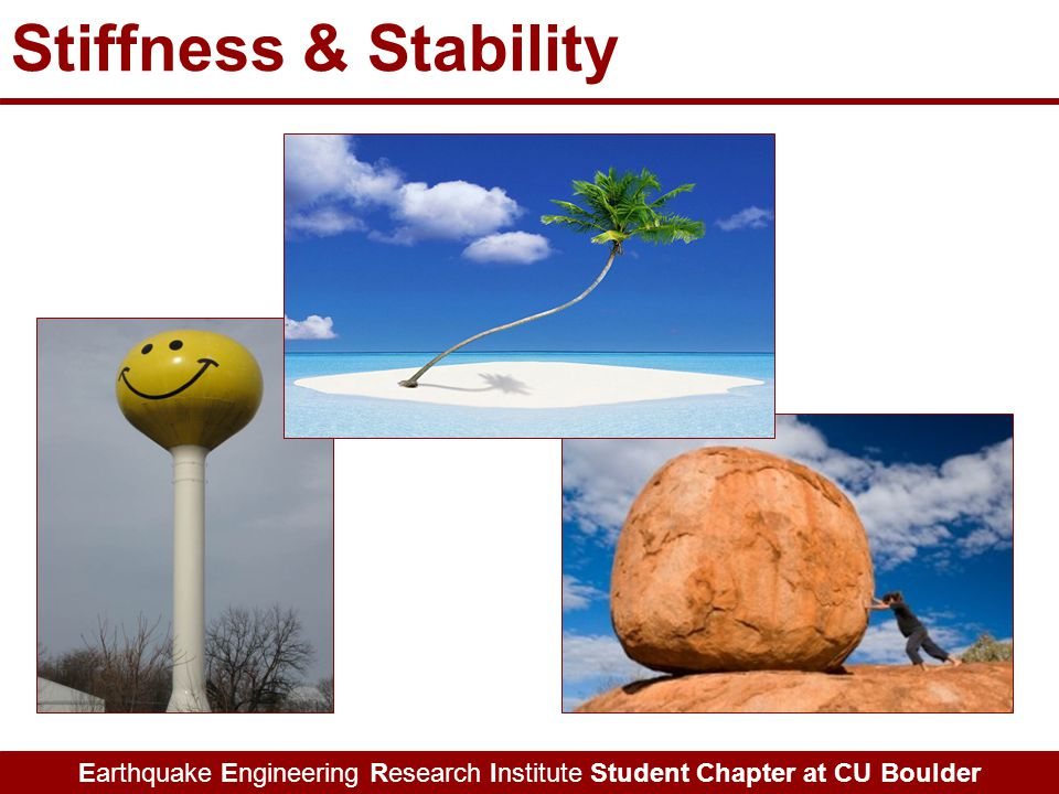 Earthquake Engineering Research Institute Student Chapter at CU Boulder Stiffness & Stability