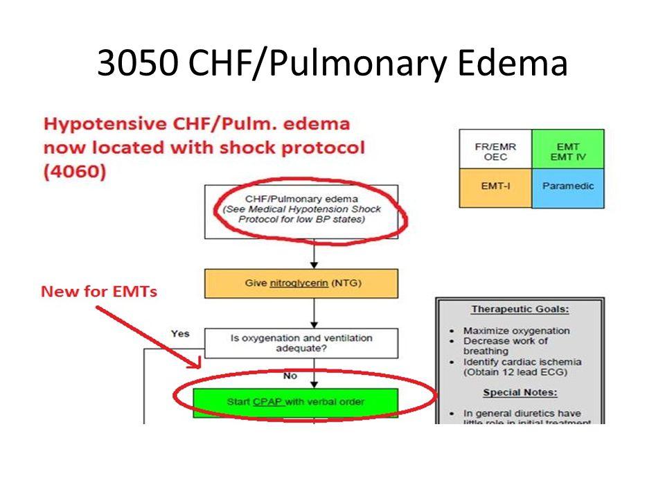 3050 CHF/Pulmonary Edema