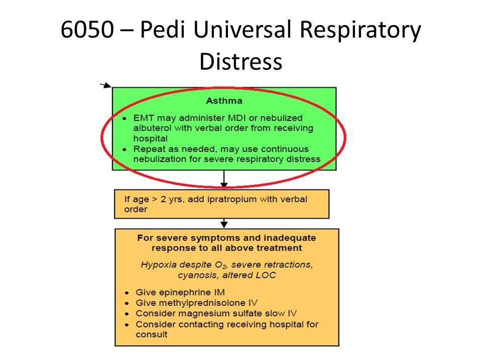 6050 – Pedi Universal Respiratory Distress