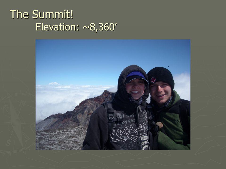 The Summit! Elevation: ~8,360'