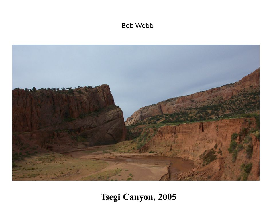 Bob Webb Tsegi Canyon, 2005
