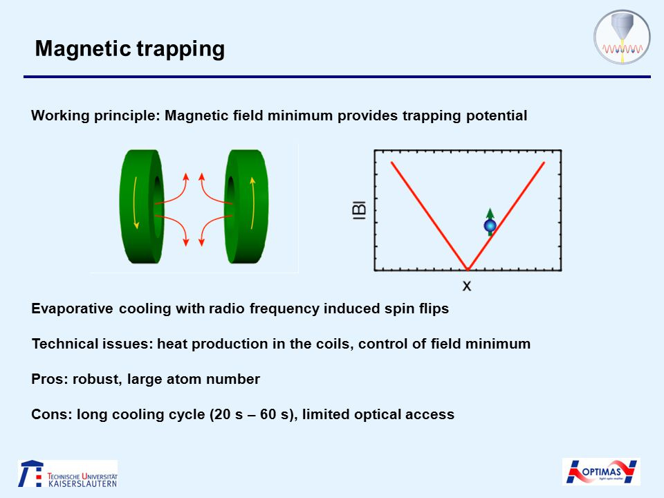 Making ultracold molecules Evaporative cooling in a dipole trap a = + 3500 a 0 a = - 3500 a 0 Maximum possible number of trapped non-interacting fermions Innsbruck