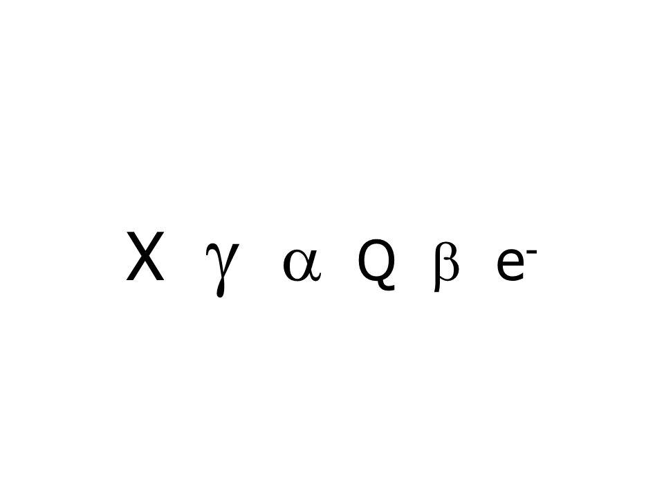 X   Q  e -