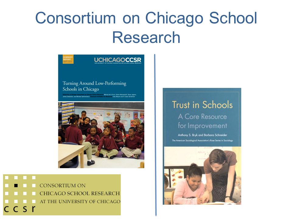 Consortium on Chicago School Research