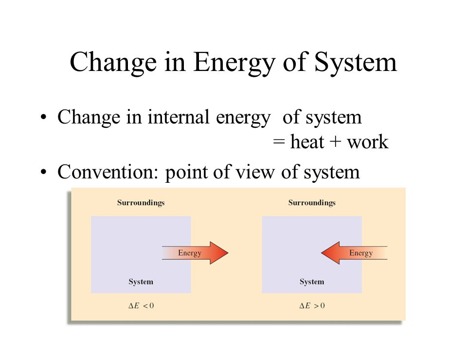 Total Energy Total Energy = kinetic + potential Law of Conservation of Energy - The total energy of universe is constant Internal Energy - E - the sum