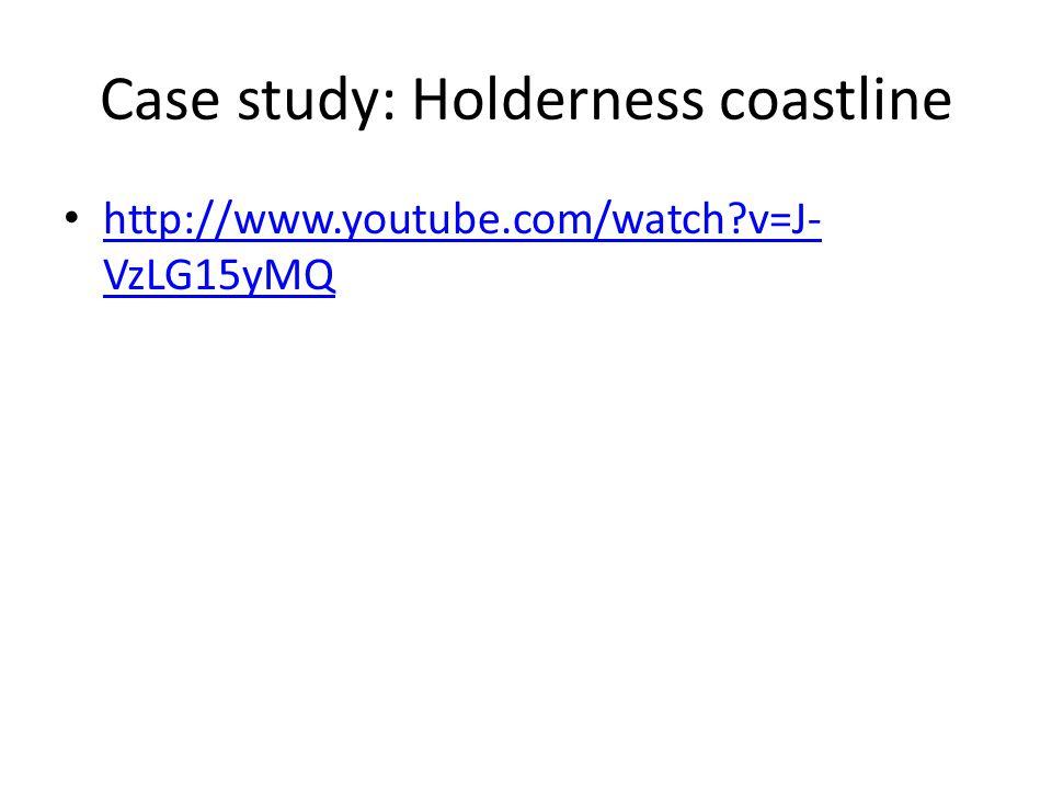Case study: Holderness coastline http://www.youtube.com/watch v=J- VzLG15yMQ http://www.youtube.com/watch v=J- VzLG15yMQ