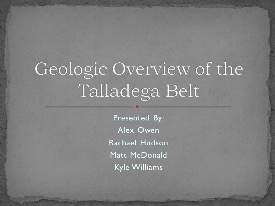 Columbiana Synform: Occurs along the frontal ramp of the Talladega-Carterville fault and contains the Sylacauga Marble Group up to the Shelvin Rock Church formation.