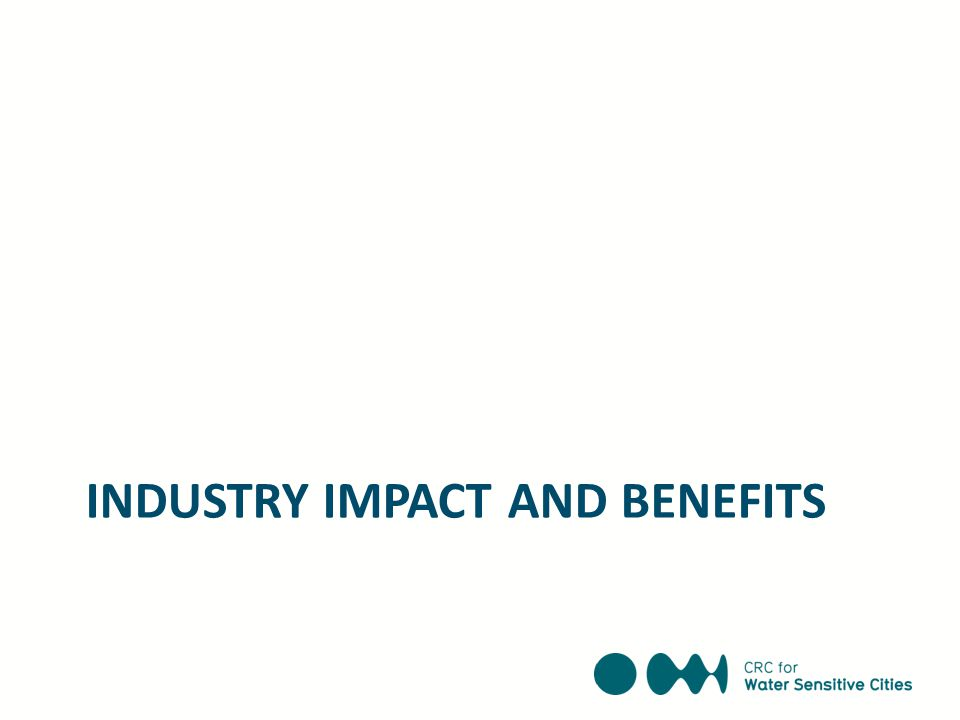 INDUSTRY IMPACT AND BENEFITS