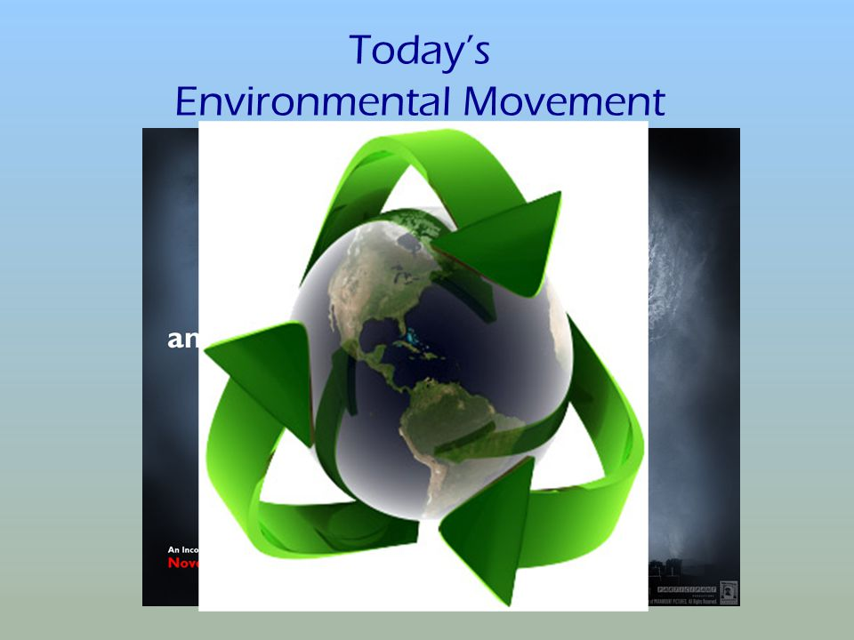 Today's Environmental Movement