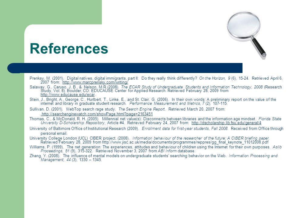 References Prenksy, M. (2001).