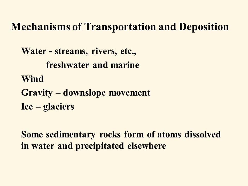 Classification of sedimentary rocks Clastic (Detrital in your book) Nonclastic