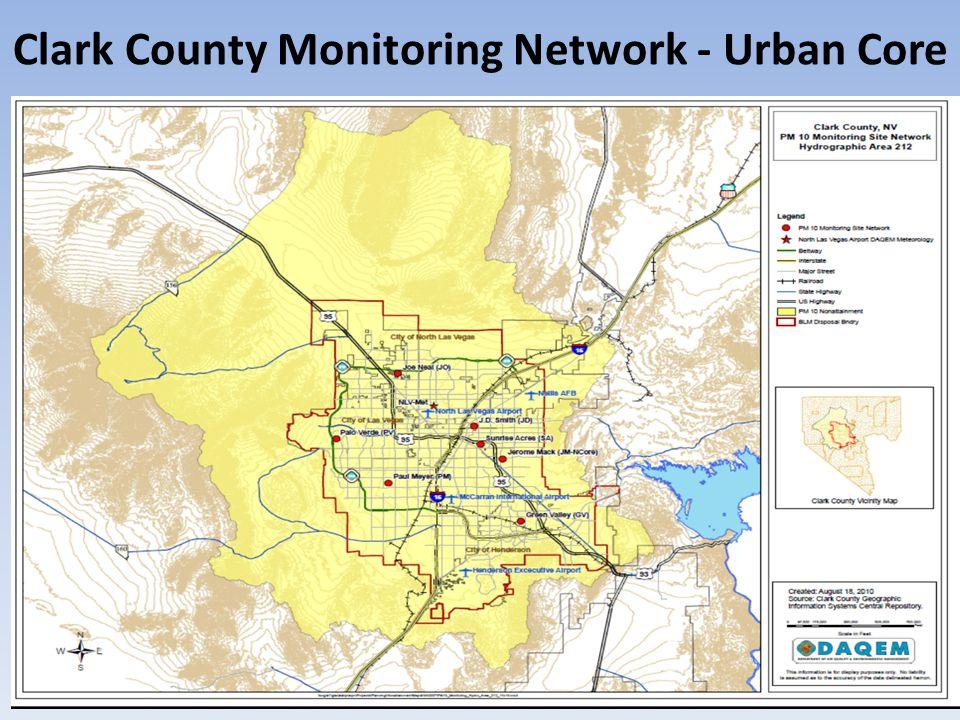 Clark County Monitoring Network - Urban Core