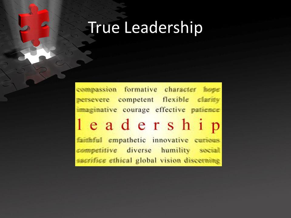True Leadership