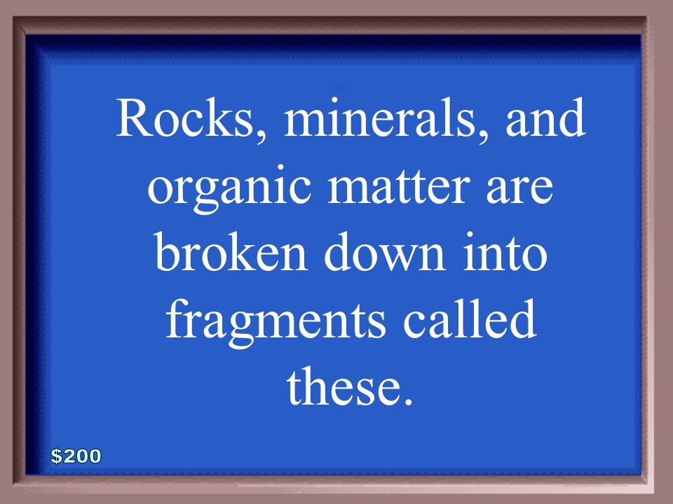 1-100A 1 - 100 What is the rock cycle